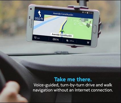 نقشه های Nokia HERE در گوگل پلی بیش از یک میلیون بار دانلود شده است