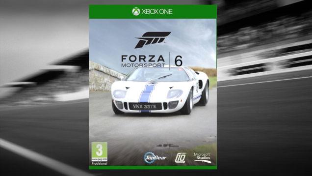 Ford GT جدید شاید تصویر باکس آرت بازی Forza 6 شود