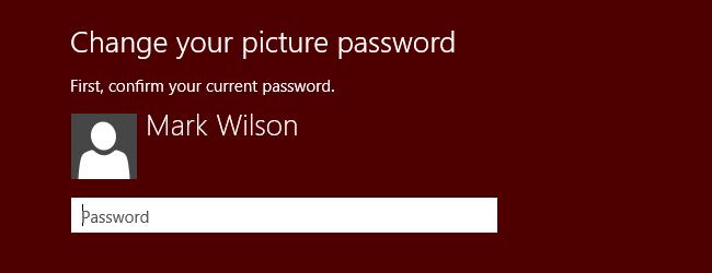 Windows 8-Picture Password