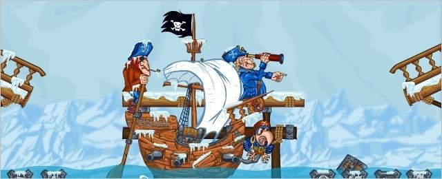 سرگرمی روز جمعه : دزدان دریایی – گنجینه قطب شمال