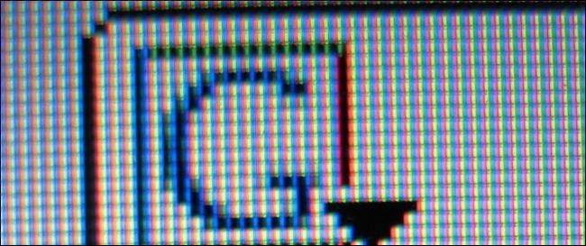 آموزش رفع پیکسل به جای مانده بر روی مانیتور های LCD