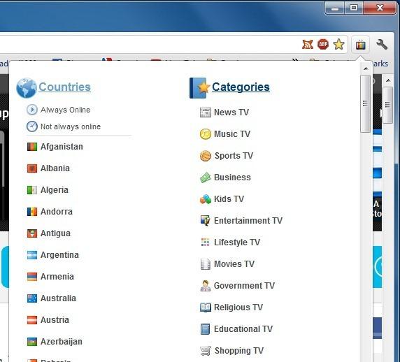 در گوگل کروم شبکههای تلویزیونی سراسر دنیا را تماشا کنید