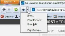 Print Edit
