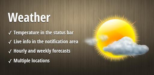 Weather ، نمایی ساده و قابل فهم از وضعیت آب و هوا