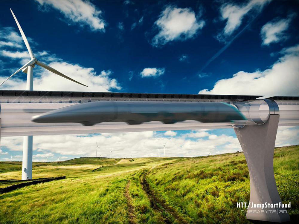 پروژه ساخت قطاری با سرعت 340 متر بر ثانیه