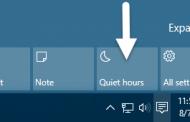 راهنمای تنظیمات دلخواه ساعت آرام یا Quiet Hours در ویندوز ۱۰