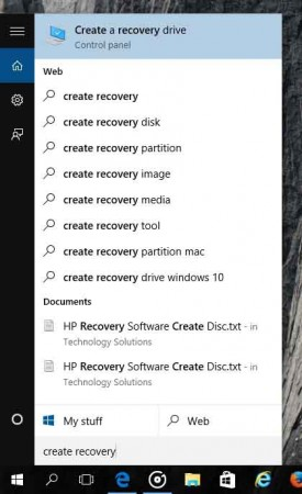 recovery-drive