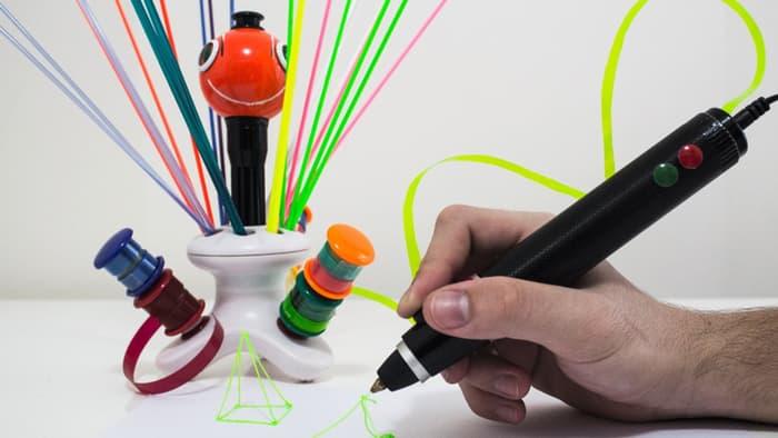 عملکرد عجیب قلم چاپ ۳ بعدی Renegade در تبدیل اشیاء