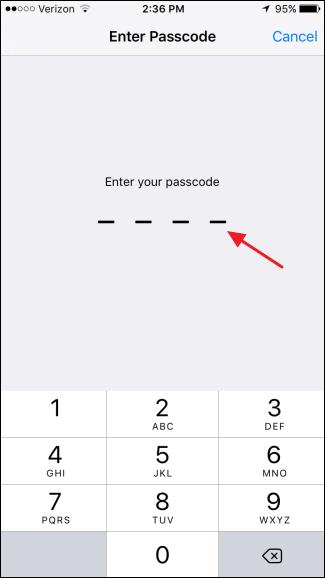 ریست تنظیمات شبکهی iOS
