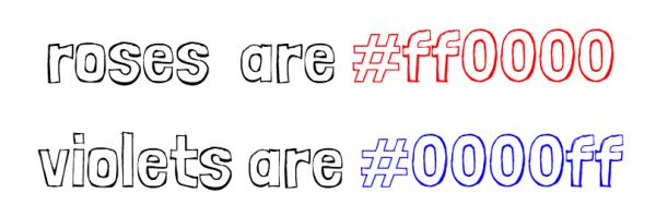 چگونه رنگهای وب را از روی کدهای RGB تشخیص دهیم؟