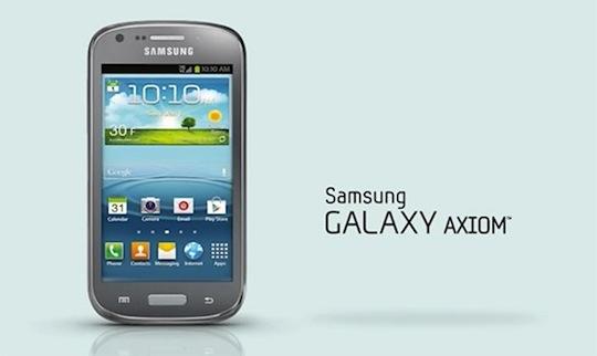 تلفن هوشمند Galaxy Axiom فرزند جدید کهکشان سامسونگ رسما معرفی شد