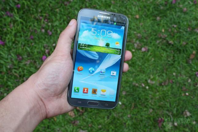 آپدیت اندروید ۵ برای Galaxy Note 2