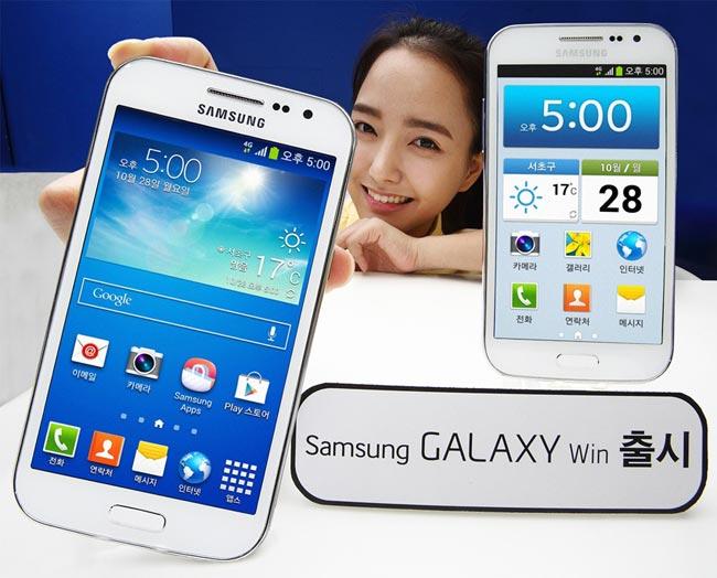 گوشی هوشند گلکسی Win سامسونگ در کره جنوبی عرضه شد