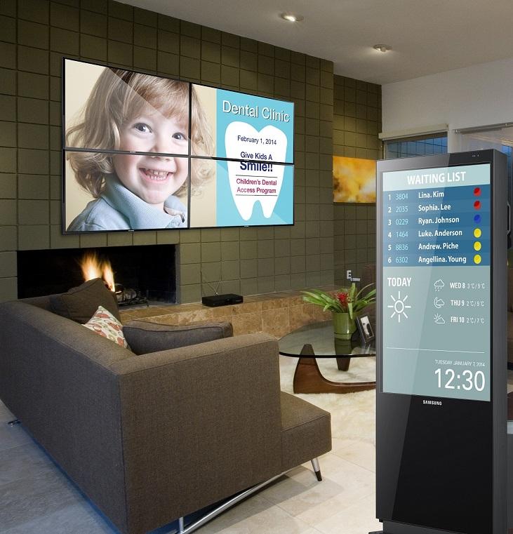 دستاورد جدید سامسونگ برای صاحبان کسب وکار: نمایشگرهای دیجیتال و هوشمند