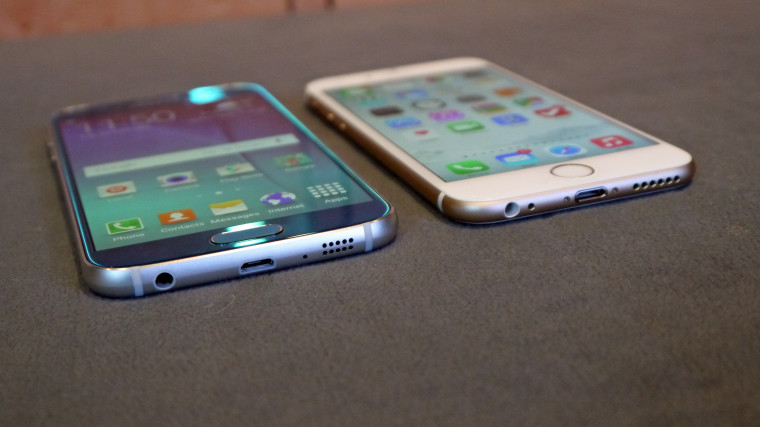 Galaxy S6 هم مانند iPhone 6 plus خم می شود