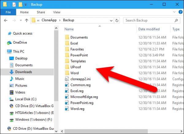 بک آپ گیری و انتقال تنظیمات نرم افزار