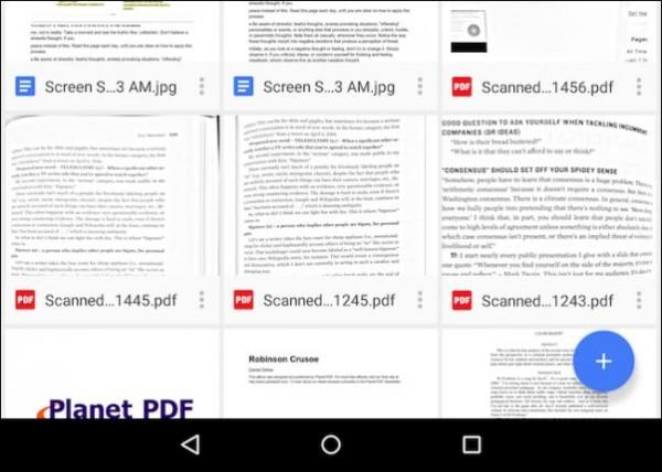 اسکن کردن اسناد توسط تبلت و موبایل