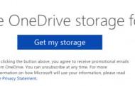 ۱۰۰ گیگابایت فضای وان درایو مایکروسافت به مدت دوسال ارائه می شود