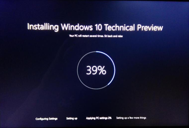 تصویر جدیدی از صفحه نصب ویندوز ۱۰ به بیرون درز پیدا کرد