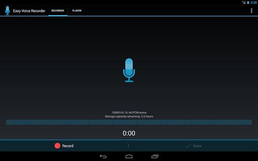 با Easy Voice Recorder به آسانی در اندروید به ضبط صدا بپردازید
