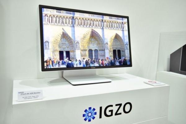 شارپ از مانیتور IGZO به عنوان اولین نمایشگر ۸K رونمایی کرد