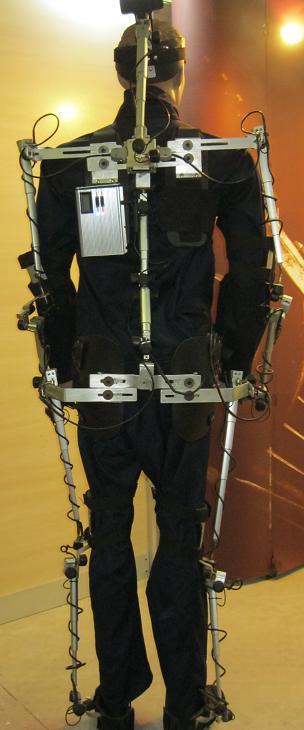 نمونه ای از سختافزارهای شبیه سازی حرکات انسان