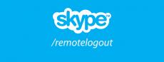 خارج شدن از اسکایپ از راه دور