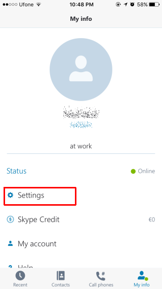 How To Turn Off Integrated Calling For Skype Calls In iOS 10