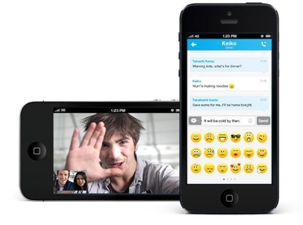 اسکایپ 4.21 برای IOS عرضه شد