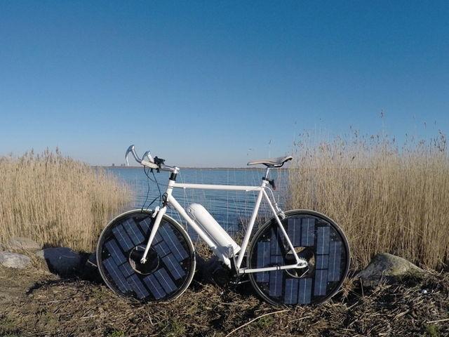 دوچرخه خورشیدی دوچرخه آینده