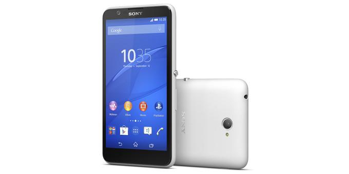 تلفن هوشمند Sony Xperia E4 معرفی شد