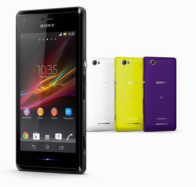 گوشی هوشمند Xperia M به طور رسمی معرفی شد