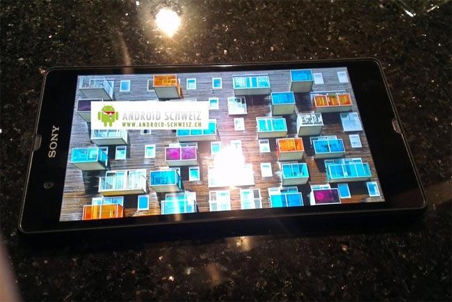 اسمارت فون Xperia Yuga سونی با صفحه نمایش 1080p