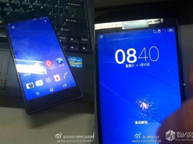 نخستین تصویر گوشی هوشمند اکسپریا Z3 فاش شد!