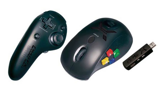 Splitfish دسته ی Xbox 360 را با یک موس ترکیب کرد