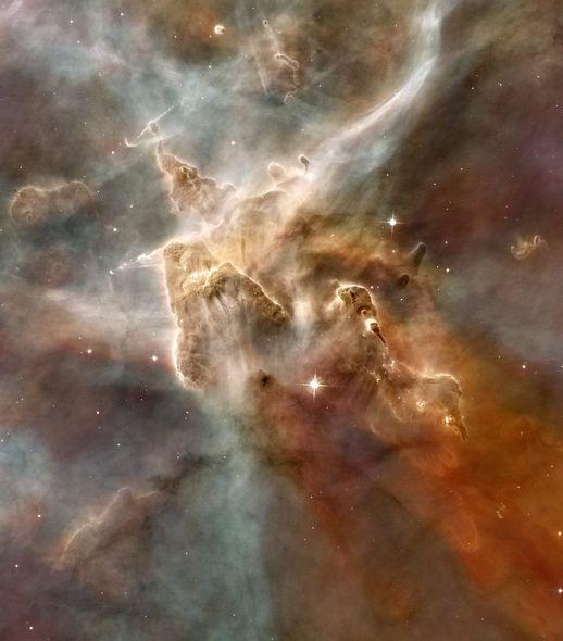 سحابی Game در کهکشان راه شیری