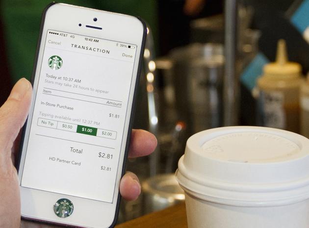 اپلیکیشن Starbucks و رویای کافی شاپی جهانی!
