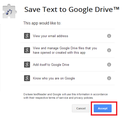 stored Google Drive