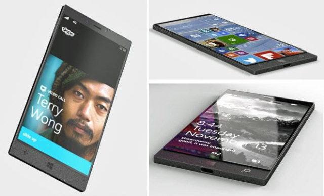 رندرهای جدیدی از گوشی ردهبالای سرفیس فون مایکروسافت، منتشر شد