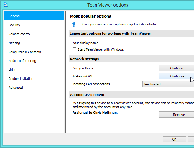 teamviewer-wake-on-lan-options