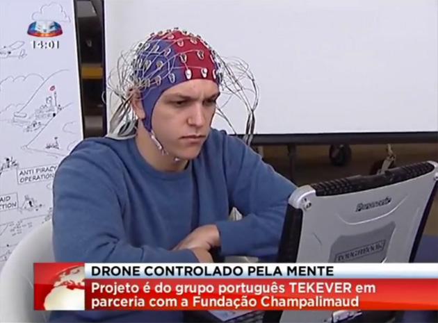 پهپادهایی که با مغز کنترل می شوند