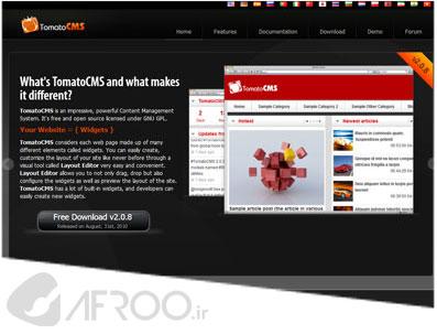 طراحی سایت افرو - 20 سیستم مدیریت محتوای برتر و رایگان PHP