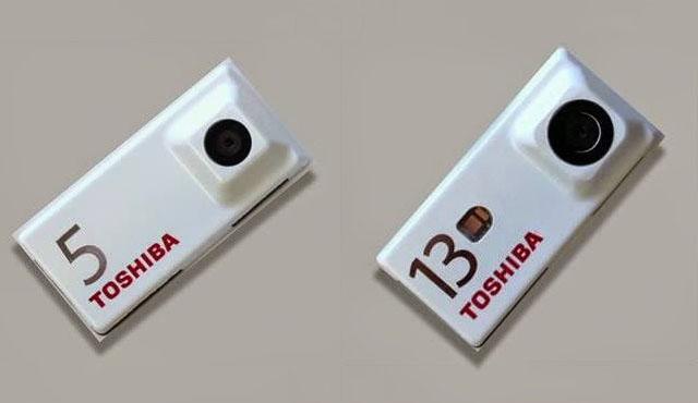تصاویر ماژول دوربین توشیبا برای پروژه آرا گوگل