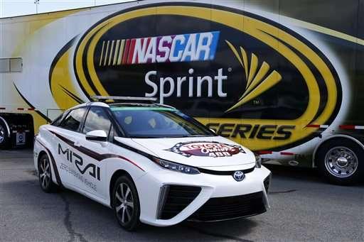 تویوتا اولین خودروی سرعتی با سوخت هیدروژن را رونمایی کرد