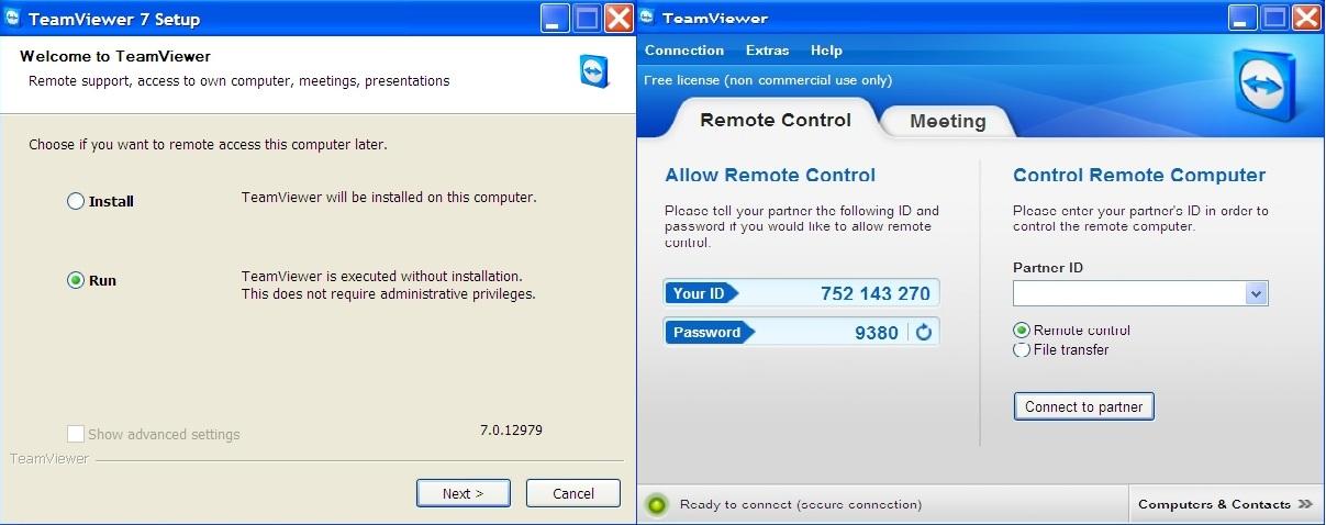کنترل آسان رایانه توسط موبایل به وسیله TeamViewer