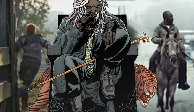 تریلر فصل ۷ ام مردگان متحرک و حضور زامبی ها و ببری به نام shiva