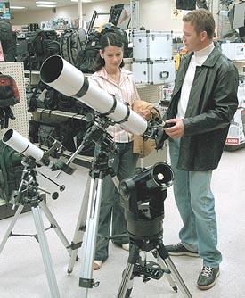 انواع تلسکوپ