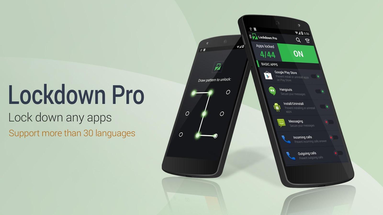 با LockDown Pro همه چیز را قفل گذاری کنید!(Android)