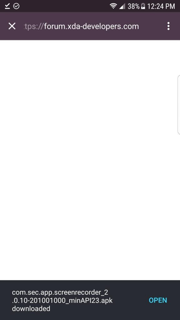 رکوردر مخفی صفحهی گلکسی S8