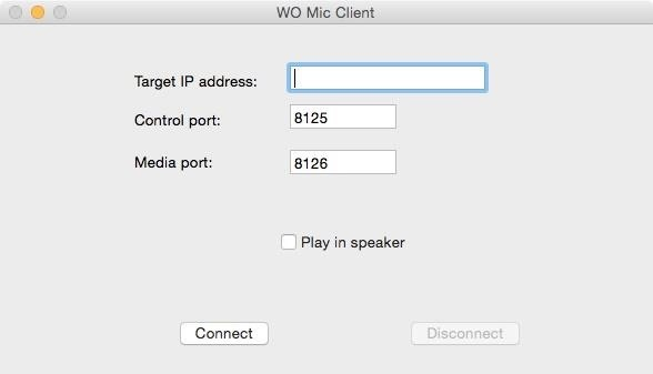 WO Mic Client